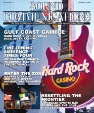 Sound and Communications - October 2007 Issue