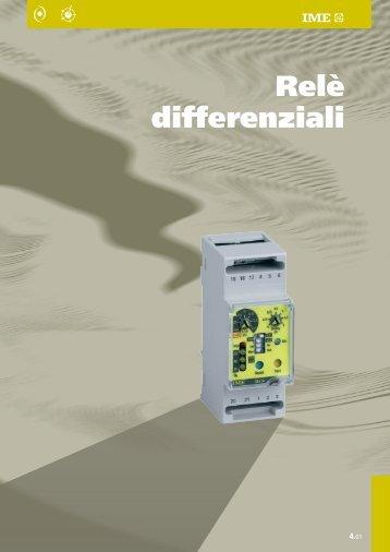 Relè differenziali - Ime