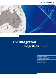 The Integrated Logistics Group - DB Schenker