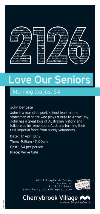 Love Our Seniors - Mirvac | Retail