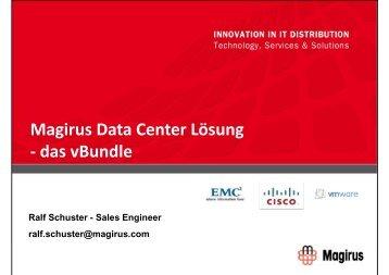 Magirus Data Center Lösung - das vBundle