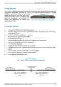 16 E1 + Ethernet - PDH Optical Multiplexer - Data ... - Aries Telecom - Page 2