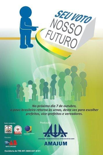 Cartilha - Seu Voto, Nosso futuro - Amam