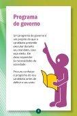 Cartilha - Seu Voto, Nosso futuro - Amam - Page 7
