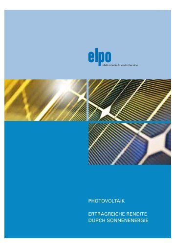 Download | Folder Photovoltaik - Elpo