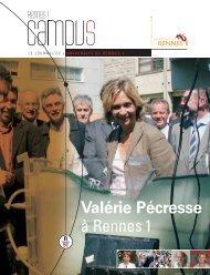 septembre-octobre 2007 - Université de Rennes 1