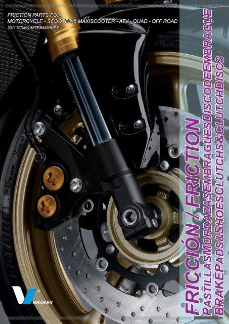 Plaquettes de frein Motos Gas-Gas Pampera 125  Arrière de 2005 à Nc