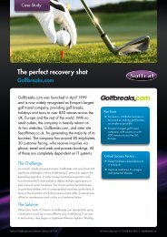 The perfect recovery shot Softcat helps Europe's largest