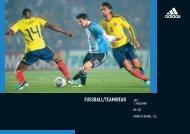 Adidas Fußball/Teamwear Katalog 2012