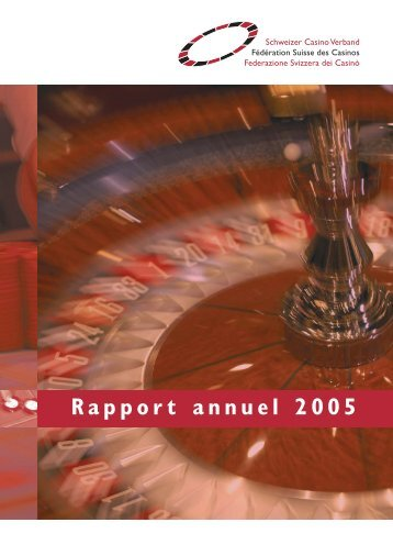Rapport annuel 2005