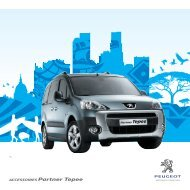 Download de brochure - services - Peugeot