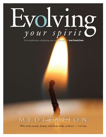 meditation - Evolving Your Spirit