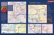 2013 Heritage Trail/Quilt Gardens Map - Amish Country