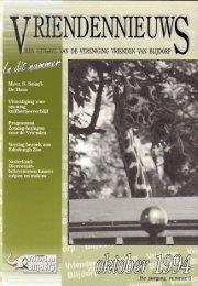 1994-16-03 - Vrienden van Blijdorp