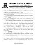 Anexo II - Prefeitura Municipal de Salto de Pirapora - Page 2