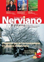 Anno II - Numero 4 Dicembre 2008 - Comune di Nerviano