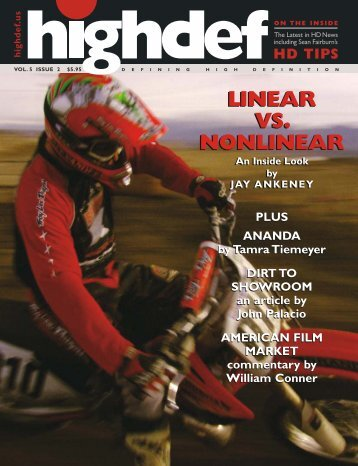 Volume 5, Issue 2 High Bandwidth - highdef magazine