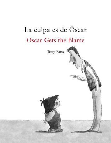 La culpa es de Óscar - Anaya Infantil y Juvenil