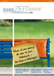 Ihre Bank in Hiddingsel: Mitarbeiter heißen Sie willkommen Filiale ...