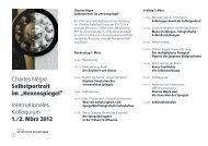 Programm - Zentrum Geschichte des Wissens - ETH Zürich