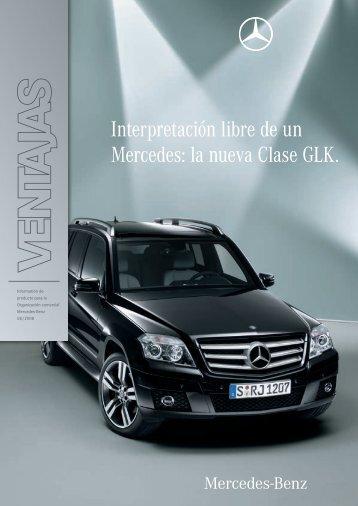 Interpretación libre de un Mercedes: la nueva Clase GLK. - Kaufmann