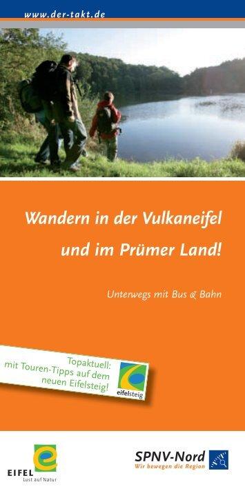 Wandern in der Vulkaneifel und im Prümer Land! - VRT