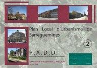 2. P.A.D.D. - Ville de Sarreguemines