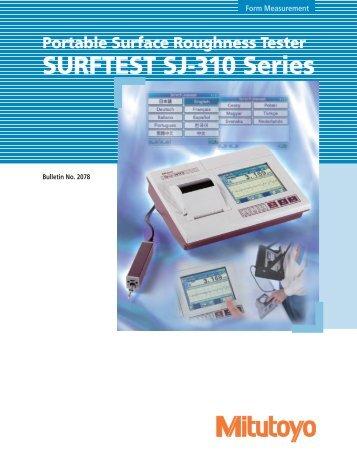 surftest sj 310 series   labomat