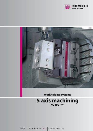5 axis machining