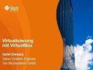Virtualisierung mit VirtualBox