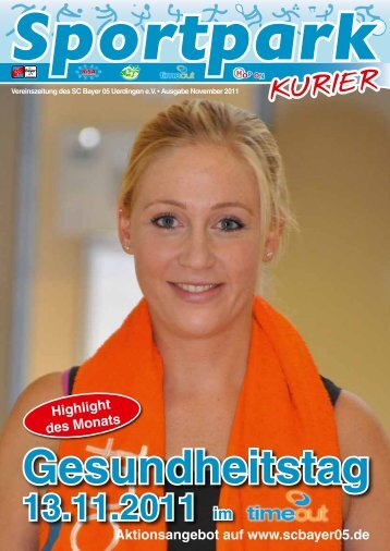 Sportpark Kurier - Ausgabe 28 - SC Bayer 05 - Sport-ID