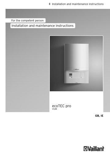 ecoTEC pro - Vaillant