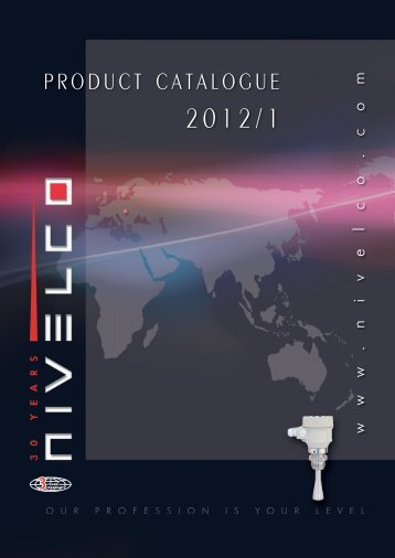 PRODUCT CATALOGUE - Nivelco Process Control Co., Inc.