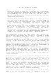Auf den Spuren der Azteken Viel ist in diesem ... - Cusanus.net