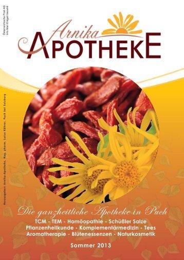 Aktuelle Ausgabe - Arnika Apotheke - APO.or.at