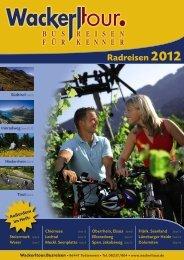 Radreisen 2012 (PDF) - Wackerl