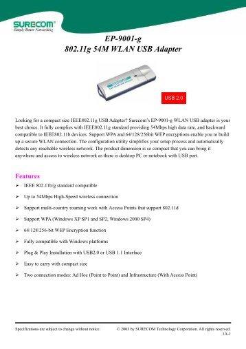 SureCom EP-9321-gp(A2) 64x