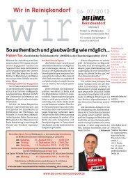 Wir in Reinickendorf 06-07/2013 als PDF - DIE LINKE. Reinickendorf
