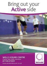Bring out your Active side - Zing Somerset