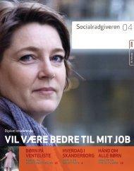 Socialrådgiveren nr. 4-2008 - Dansk Socialrådgiverforening