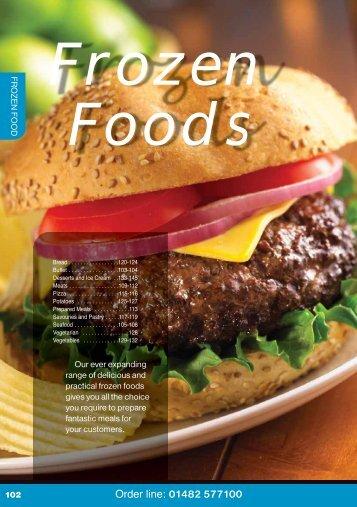Frozen foods - Turner Price