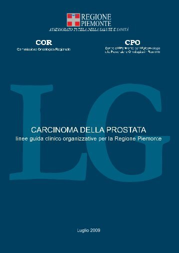 CaRCinOma DeLLa PROstata - Osservatorio Nazionale Screening
