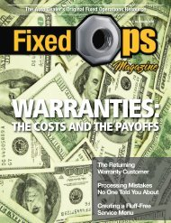 March 08 FOM - Fixed Ops
