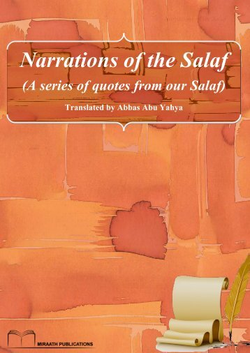 Miraath-Publications-Narrations-of-the-Salaf-2014