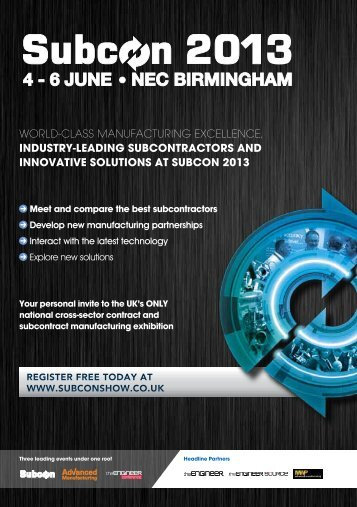 4 - 6 JUNE NEC BIRMINGHAM - AB TERM