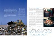 Home composting and its role in waste management
