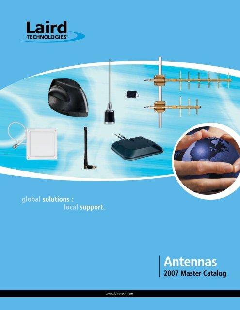 """Laird Technologies QW490 UHF 490-512 MHz Mobile Antenna NMO 6/"""""""