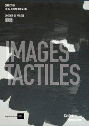dispositifs tactiles au Centre Pompidou - Alain Mikli