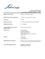 City of Johns Creek Planning Commission Staff Report - RZ-13-010 ...