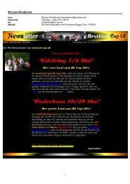 Newsletter Mai 2011 - BL-Cup